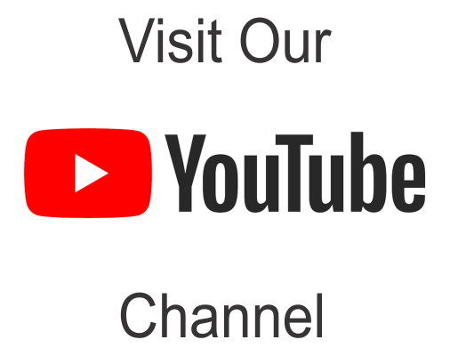Visit Our YouTube Channel for Help Videos and more