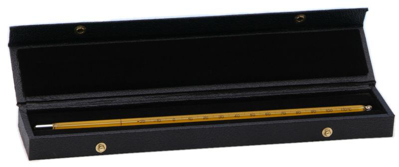 Black Thermometer Storage Case