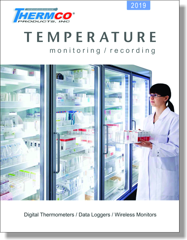 Temperature Monitoring and Recording Catalog