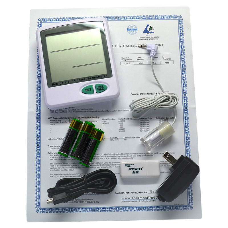 Data Logger Thermometer For Vaccines : Vaccine temperature data logger software less reporting