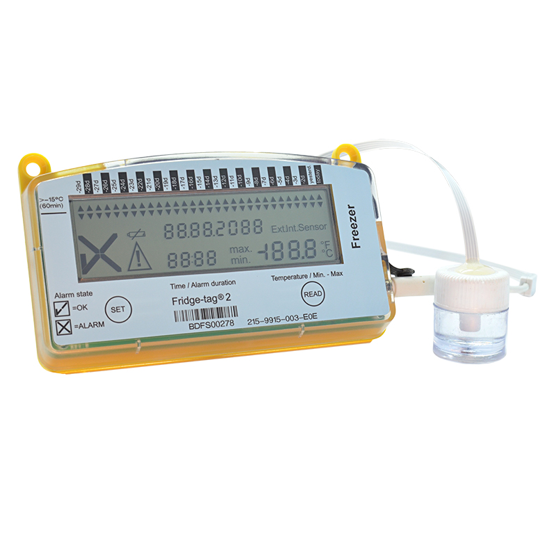 Data Logger Thermometer For Vaccines : Fridge tag v vaccine thermometer data logger thermco