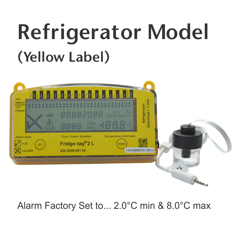 Data Logger Thermometer For Vaccines : Fridge tag l vaccine thermometer data logger thermco