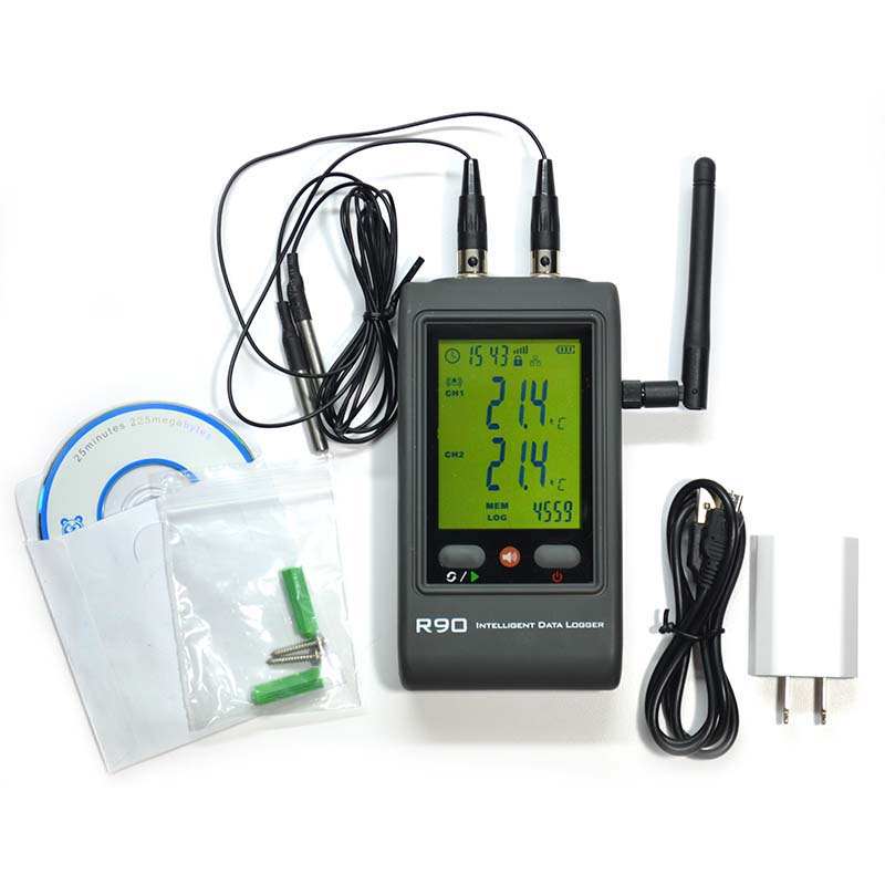 Data Logger Thermometer For Vaccines : Vaccine wi fi temperature data logger thermco
