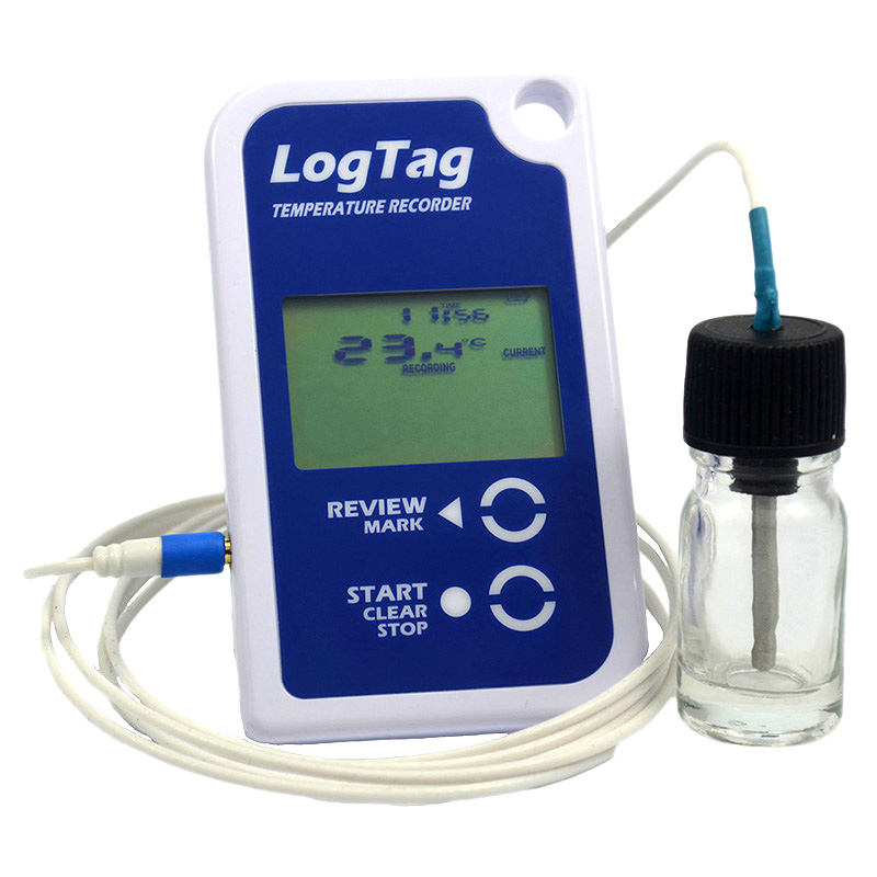 Data Logger Thermometer For Vaccines : Logtag vaccine temperature monitoring data logger thermco