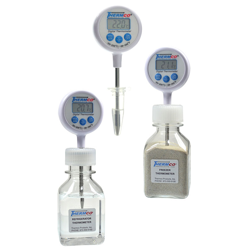 Thermco Lollipop Bottle Thermometes