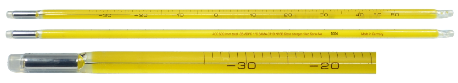 PRECISION - Safty Coat Thermometers