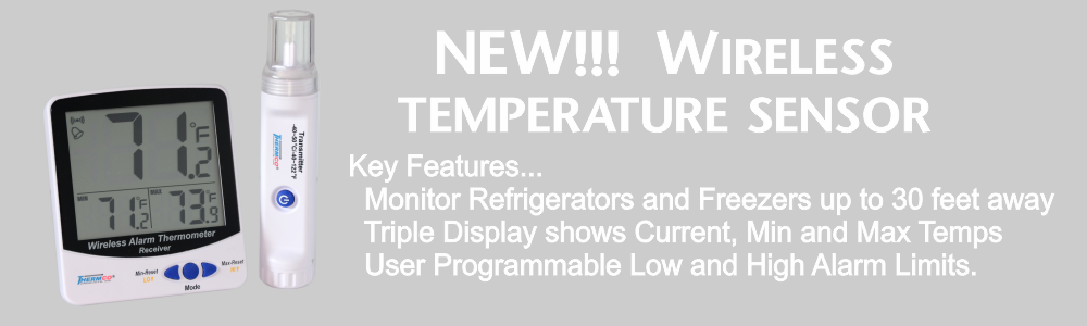 Wireless Fridge Freezer Temp Monitor
