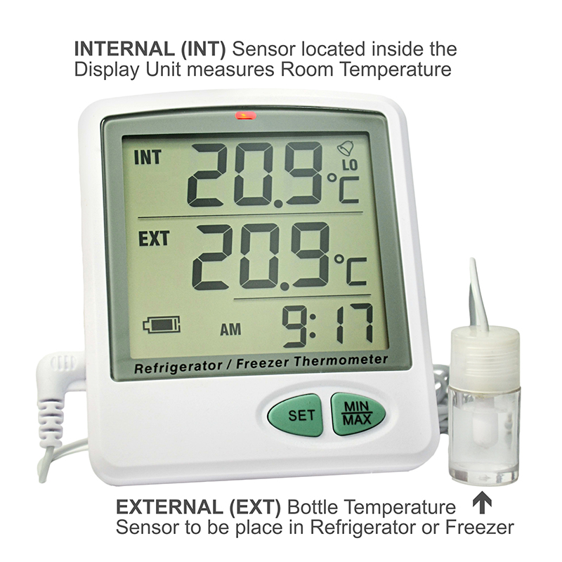 ACCRT8002 Data Logger INT EXT Display