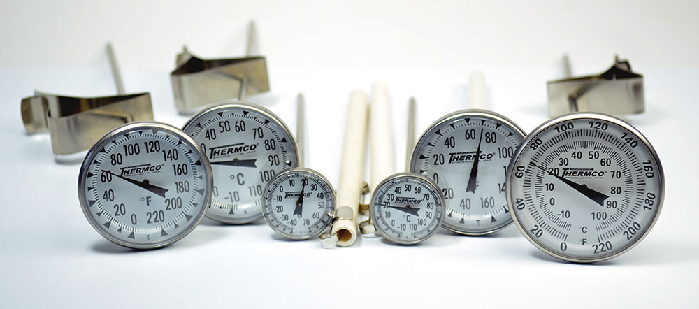 Thermco Dial Thermometers